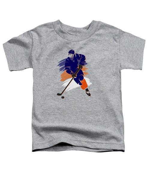 Edmonton Oilers Player Shirt Toddler T-Shirt by Joe Hamilton