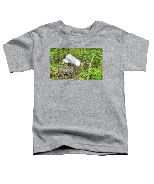 Egrets And Eggs Toddler T-Shirt