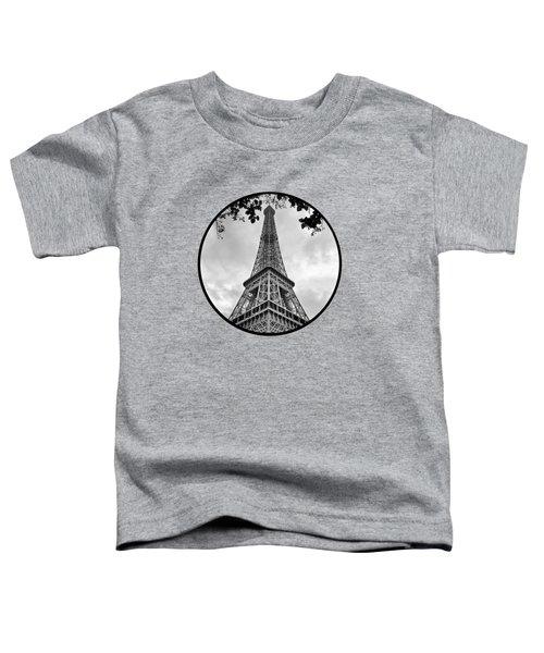 Eiffel Tower - Transparent Toddler T-Shirt