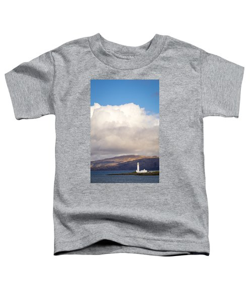Eilean Musdile Lighthouse On Lismore Toddler T-Shirt