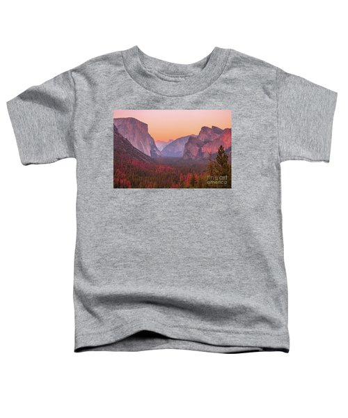 El Capitan Golden Hour Toddler T-Shirt