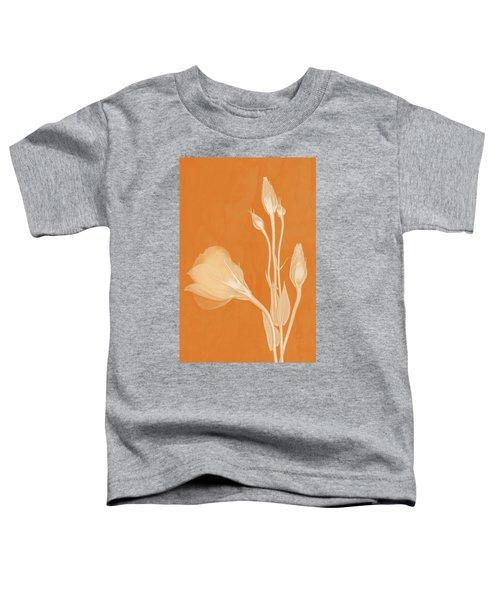 Elegance In Apricot Toddler T-Shirt