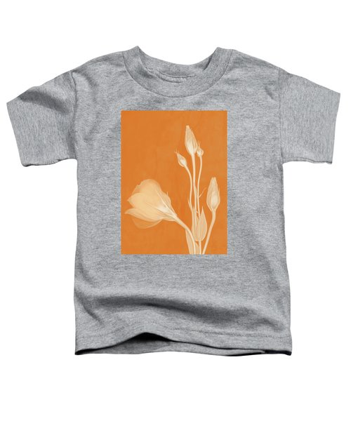 Elegance In Apricot Toddler T-Shirt