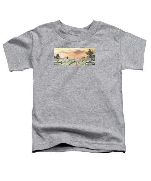 Elevator In The Sunset Toddler T-Shirt