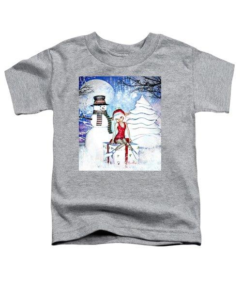 Elfin Winter Holidays Toddler T-Shirt