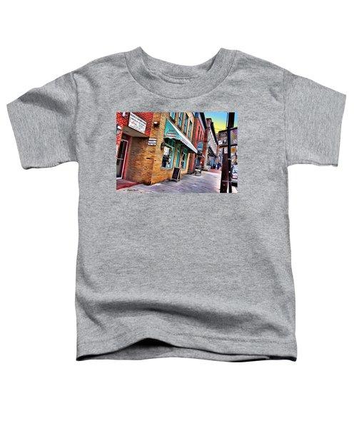 Ellicott City Shops Toddler T-Shirt