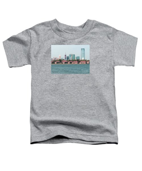 Ellis Island And Nyc Toddler T-Shirt