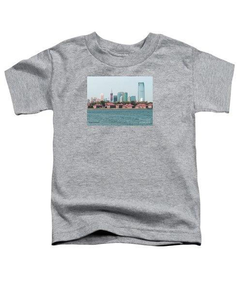 Ellis Island And Nyc Toddler T-Shirt