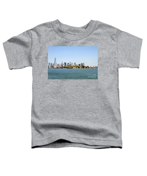 Ellis Island New York City Toddler T-Shirt