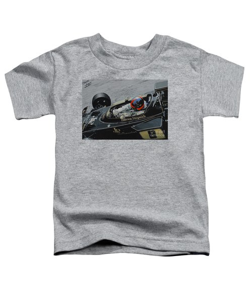 Emerson Fittipaldi, Lotus 72d Toddler T-Shirt