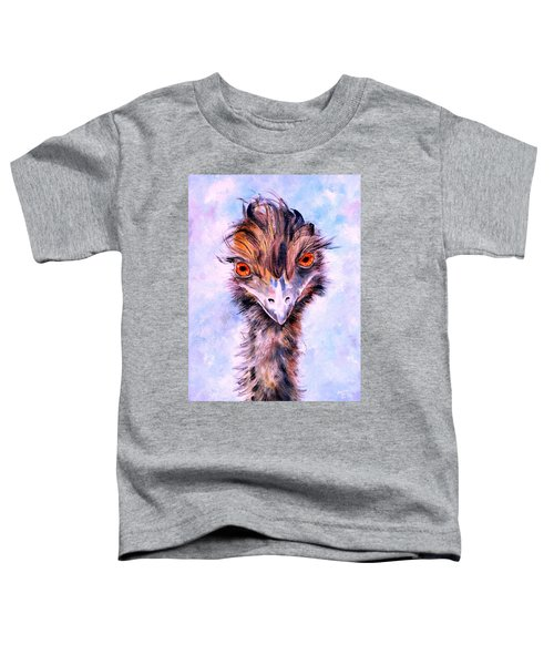 Emu Eyes Toddler T-Shirt