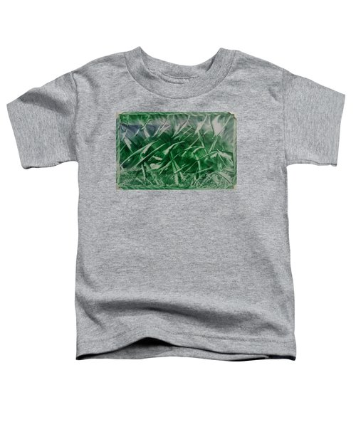 Encaustic Green Foliage With Some Blue Toddler T-Shirt