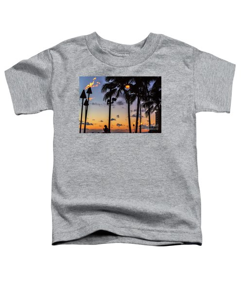 End Of The Beutiful Day.hawaii Toddler T-Shirt