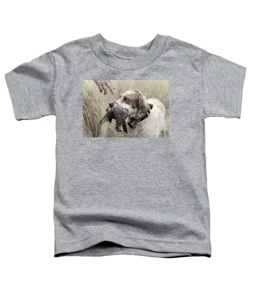 English Setter And Hungarian Partridge - D003092a Toddler T-Shirt