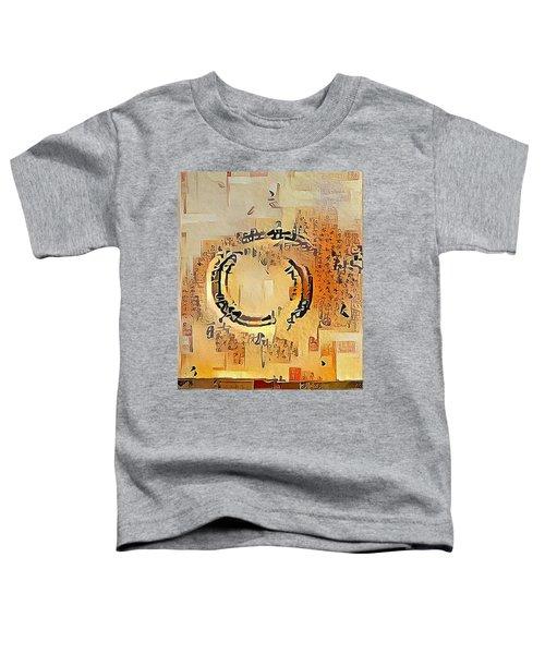 Enso Calligraphy  Toddler T-Shirt