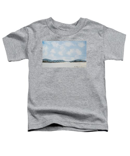 Entrance To Moulters Lagoon From Bathurst Harbour Toddler T-Shirt