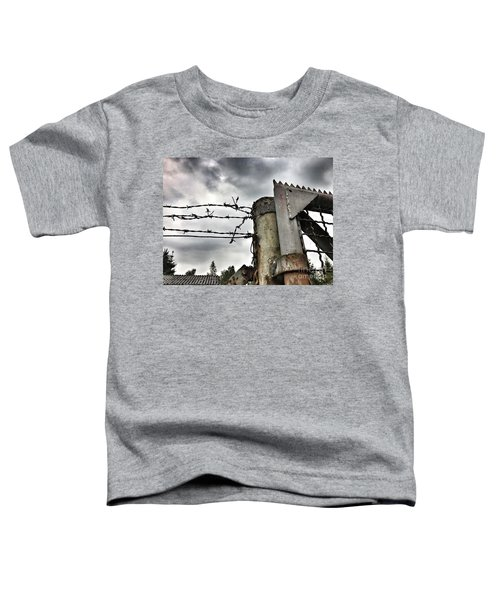 Entrance To The Old Ammunition Depot Of The Belgian Army Toddler T-Shirt