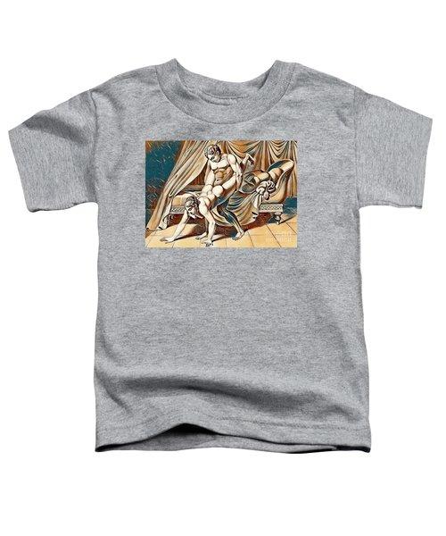 Erotic Abstract Art Toddler T-Shirt