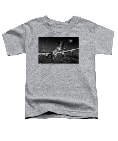 Escape At Mailly Black And White Version Toddler T-Shirt