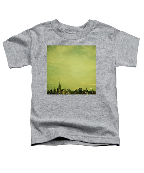 Escaping Urbania Toddler T-Shirt by Andrew Paranavitana