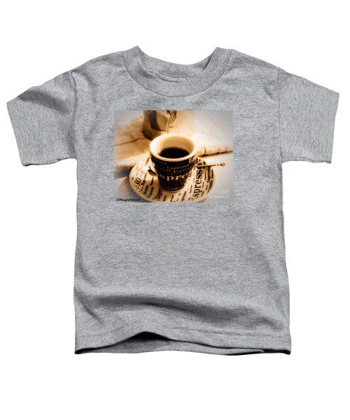 Espresso Anyone Toddler T-Shirt