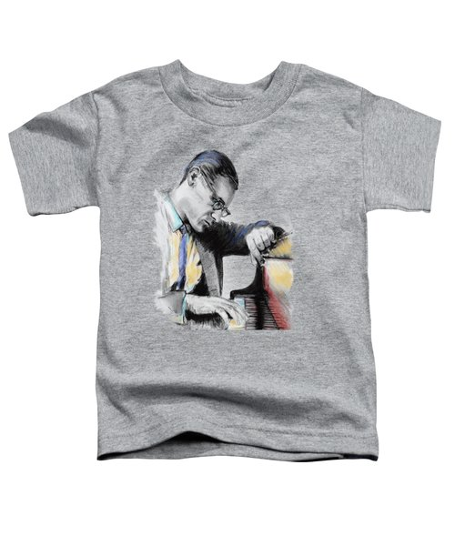 Evans Bill Toddler T-Shirt by Melanie D