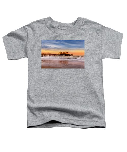 Evening Glow At The Pier Toddler T-Shirt