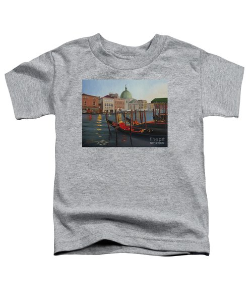 Evening In Venice Toddler T-Shirt