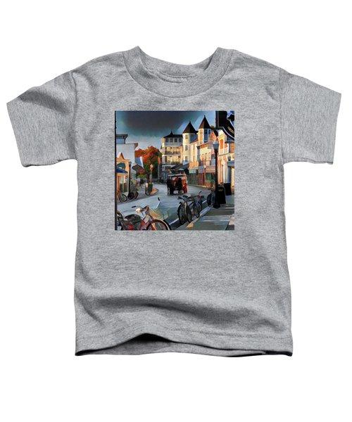 Evening On Mackinac Island Toddler T-Shirt