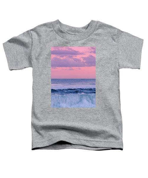 Evening Waves 2 - Jersey Shore Toddler T-Shirt
