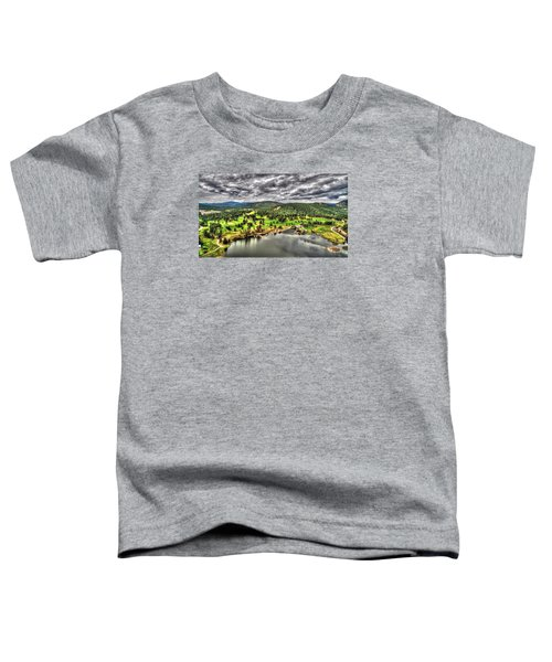 Evergreen Lake And Golf Course Toddler T-Shirt