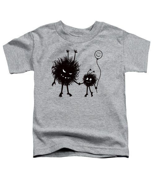 Evil Bug Mother And Child Toddler T-Shirt