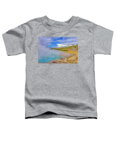 Excelsior Geyser Crater Yellowstone Toddler T-Shirt