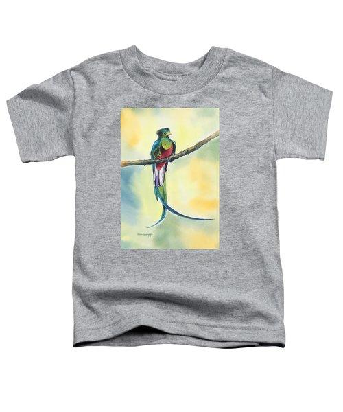 Exotic Bird Toddler T-Shirt