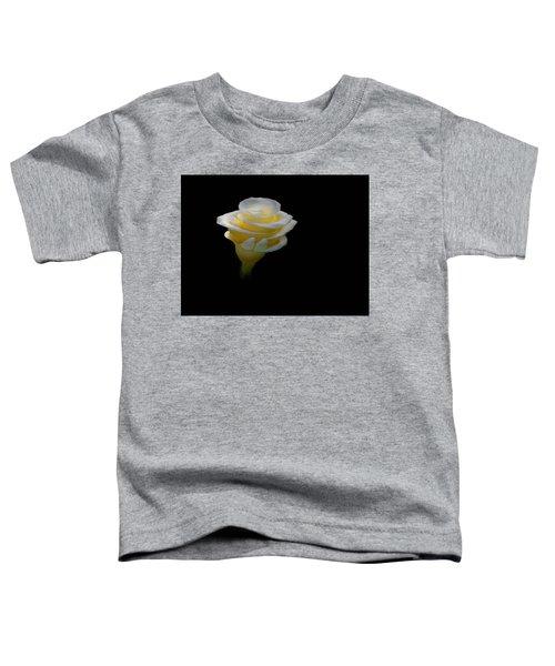 Exotic White Bloom Toddler T-Shirt