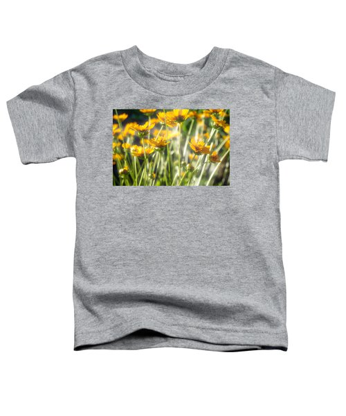 Explosion Of Yellow Toddler T-Shirt