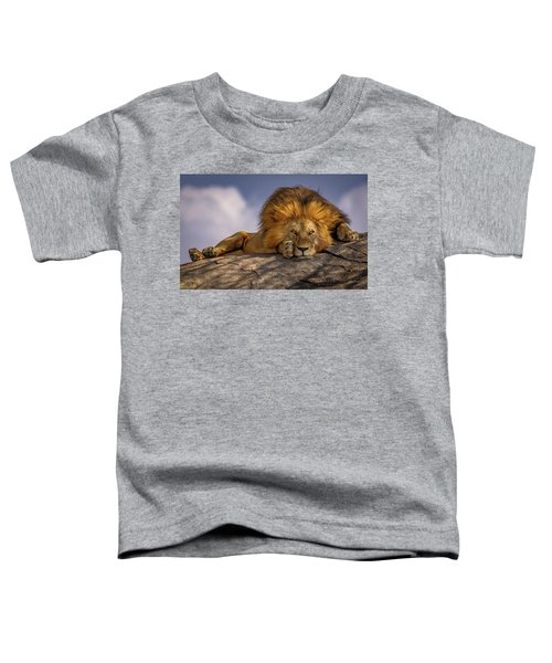 Eye Contact On The Serengeti Toddler T-Shirt