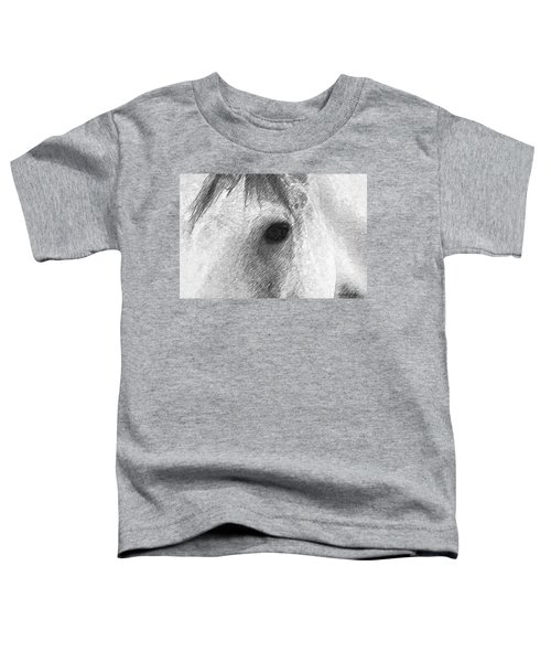 Eye Of The Horse Toddler T-Shirt