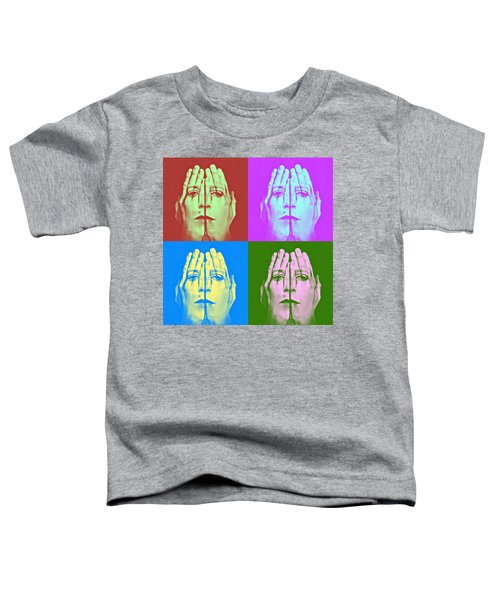 Face Art Toddler T-Shirt