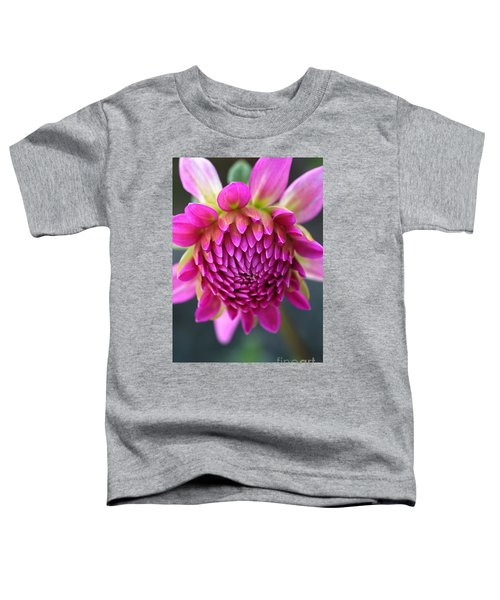 Face Of Dahlia Toddler T-Shirt