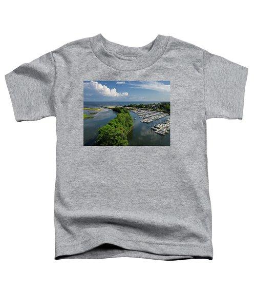 Fairfield Connecticut Marina Toddler T-Shirt