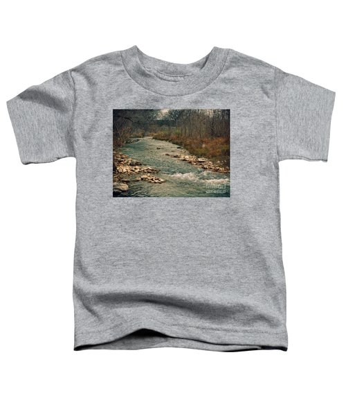 Fall Along The River Toddler T-Shirt