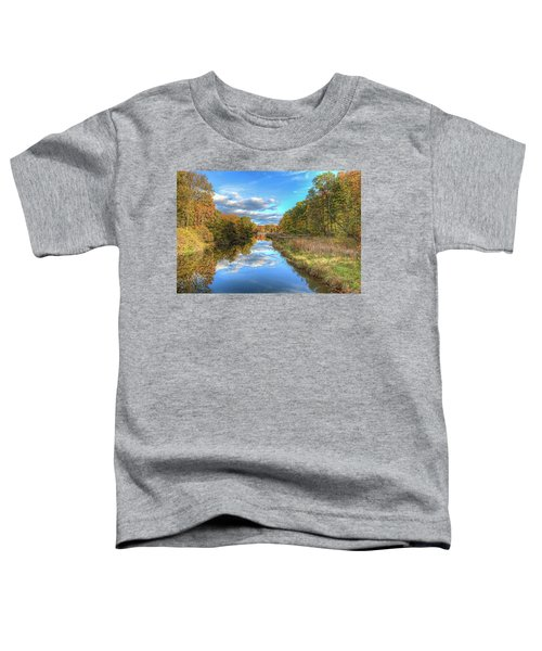 Fall At Brunswick Lake  Toddler T-Shirt