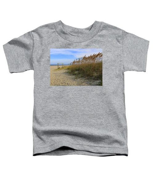 Fall Day On Tybee Island Toddler T-Shirt