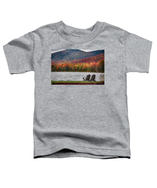 Fall Foliage At Noyes Pond Toddler T-Shirt