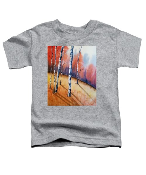 Fall In The Birches Toddler T-Shirt