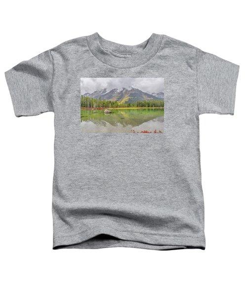 Fall Morning Along String Lake Toddler T-Shirt