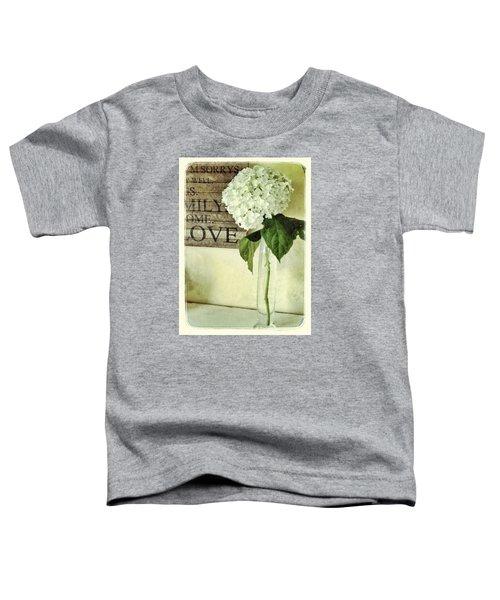 Family, Home, Love Toddler T-Shirt