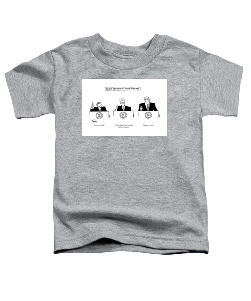 Famous Presidential Hand Gestures Toddler T-Shirt