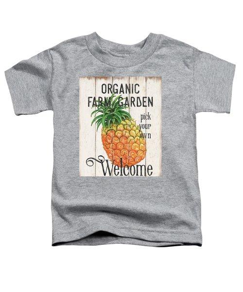 Farm Garden 1 Toddler T-Shirt